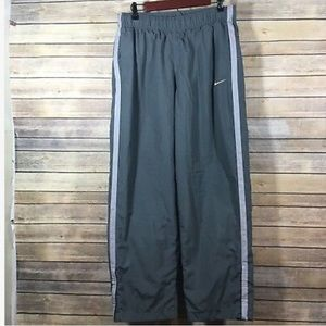 Nike Mens Large Gray Windbreaker Track Pants